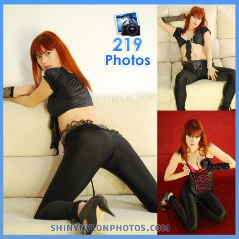 Black Lycra leggings